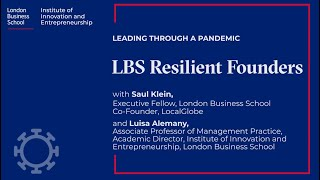 LBS Resilient Founders - Saul Klein