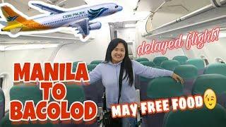 CEBU PACIFIC Flight FROM MANILA TO BACOLOD | NAIA TERMINAL 3