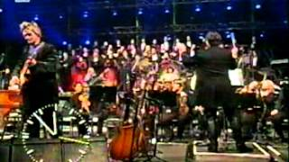 Mike Oldfield   The Millenium Bell (Live In Berlin 1999 12 31) From TV
