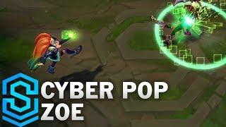 Cyber Pop Zoe Skin Spotlight - League of Legends