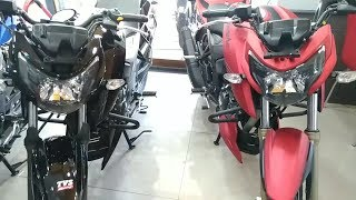 Apache RTR 160 4V Red Color # PATNA BIKES - hmong video
