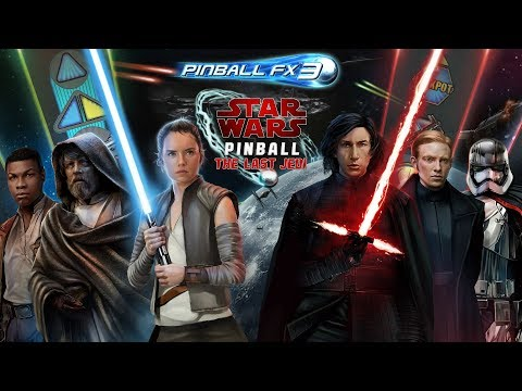 Star Wars™ Pinball: The Last Jedi – Two Exciting New Pinball FX3 Tables From Zen Studios thumbnail