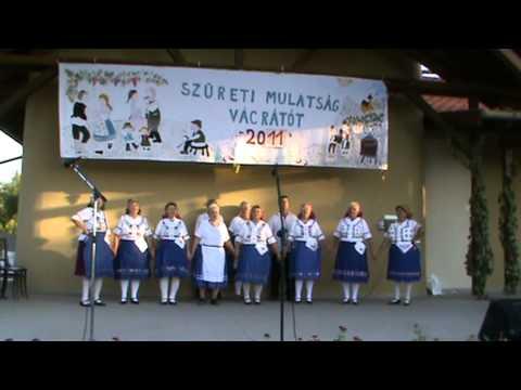 Vácrátóti nyugdíjasok énekelnek videó megtekintése