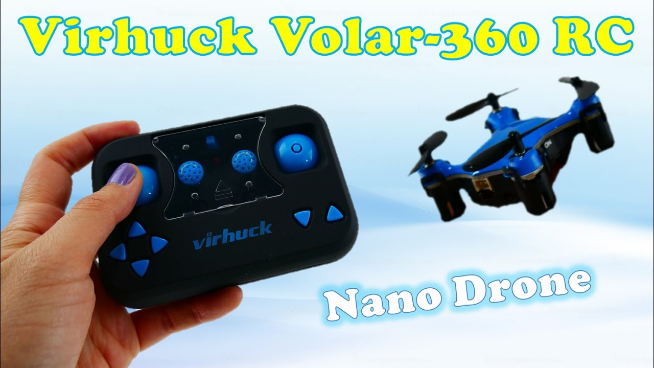 Best Toy Drone for Kids - Virhuck volar 360 RC Nano Quadcopter Unboxing and Review | Evies Toy House