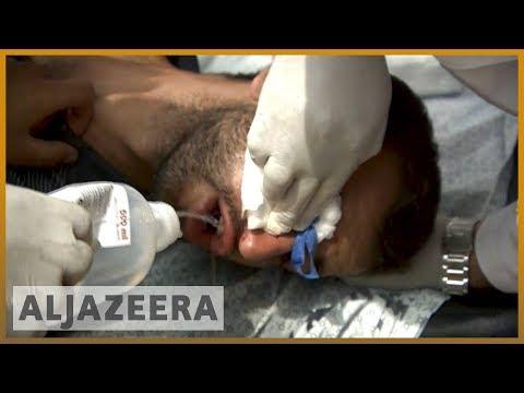 🇮🇱 Israeli forces kill scores in 🇵🇸 Gaza amid US embassy move   Al Jazeera English