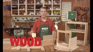 9 Essential Woodworking Joints - WOOD magazine