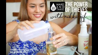 Nikki Gil Makes And Takes With The Power Of Thieves (Household Cleaner) DIY Kit By 365EO