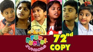Fun Bucket JUNIORS | Episode 72 | Comedy Web Series | By Sai Teja - TeluguOne
