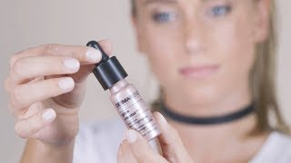 How to Use Dermablend Glow Creator Liquid Highlighter Makeup