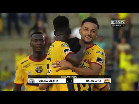 Guayaquil City 3:4 Barcelona