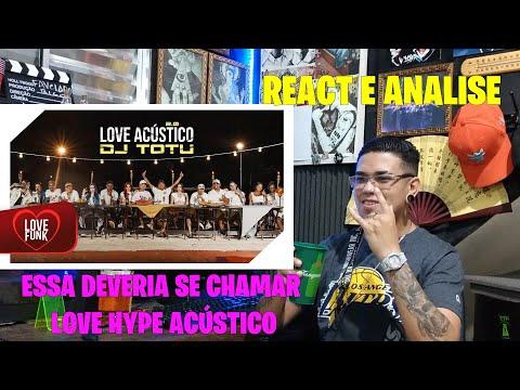 Love Acústico 2 - MC'S Lipi, Belle Kaffer, Leozinho ZS, Nathan ZK, Piedro, CL, Krawk REACT