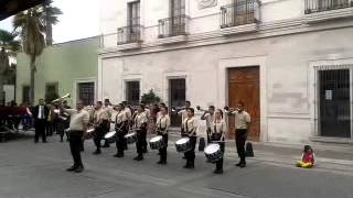 preview picture of video '7° Lugar Copa Bajio 2013 Categoría Libre  Banda de Guerra Bridones'