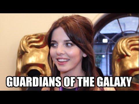 Guardians of the Galaxy Interview - Ophelia Lovibond | MTW