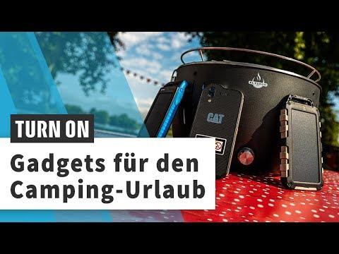 Camping-Gadgets: Outdoor-Smartphones, Powerbanks & smarte Grills
