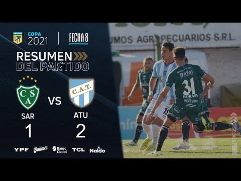 Sarmiento cayó en el Eva Perón ante Atlético Tucumán