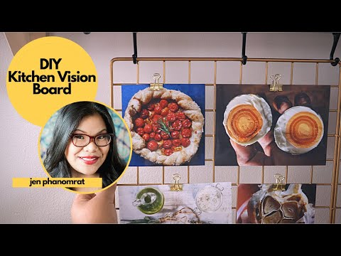 Switch Up Your Dinner Routine with a DIY Recipe Vision Board
