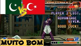 (60 FPS HD VIDEO) KoF 98 ➤ jaan98 vs Firat ➤ fightcade emulator, kof98.zip, kof98 rom, kof98