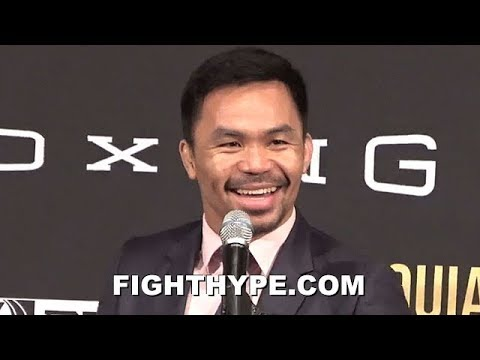 DOWNLOAD: Manny Pacquiao Vs  Keith Thurman PRESSCON FUNNY LOL