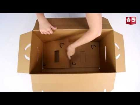 as-kartons umzugskarton,umzugskartons Aufbauanleitung