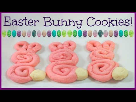Easter Bunny Cookie Recipe!
