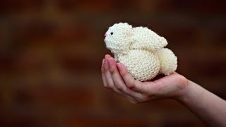 Create a Knitted Rabbit from a Square - DIY Crafts - Guidecentral