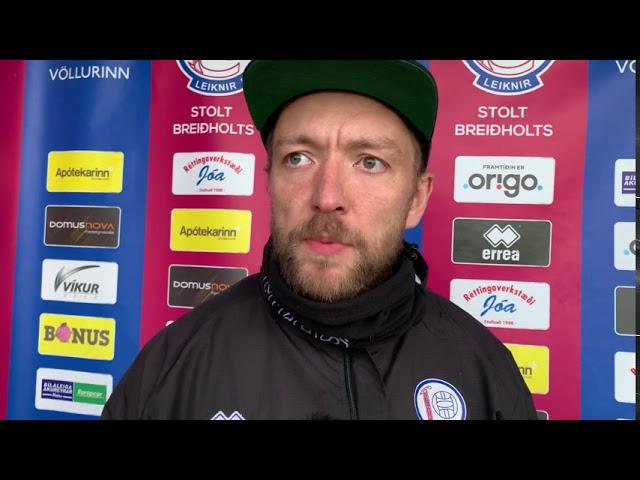 Siggi Höskulds: Ef maður er bestur í Lengjudeildinni þá á maður að vera valinn í U21 landsliðið