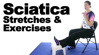 Sciatica Stretches & Exercises - Ask Doctor Jo