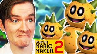 I made an ESCORT QUEST in Mario Maker! - LEAD THE LADS