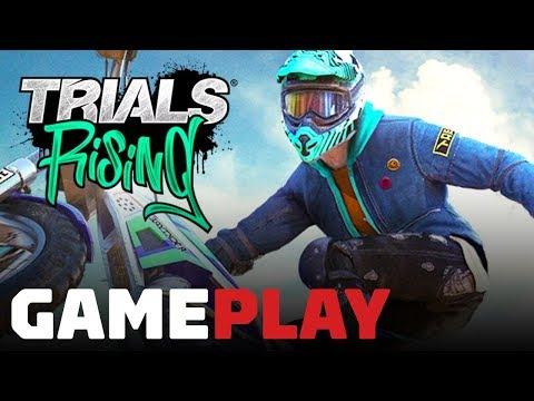 9 Minutes of Trials Rising Gameplay - Gamescom 2018