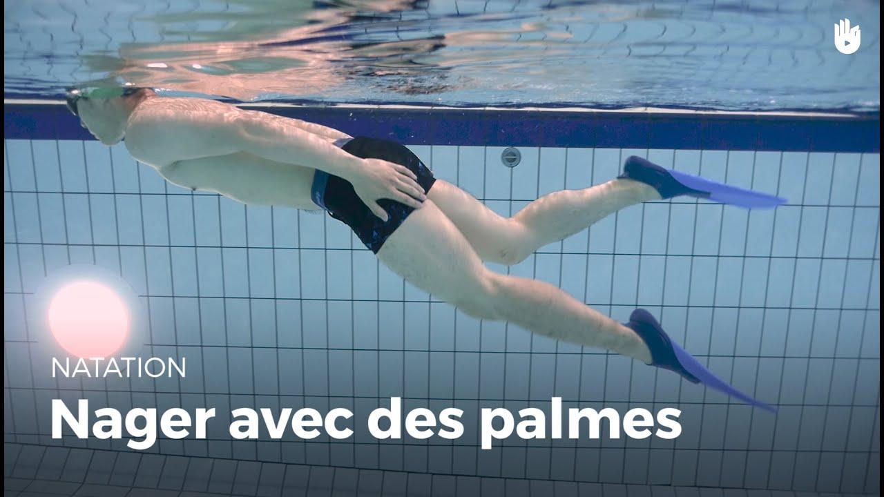 Comment nager avec des palmes comment vaincre sa peur de - Nager en piscine avec des palmes ...