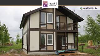 Динамика строительства КП Smart Hill