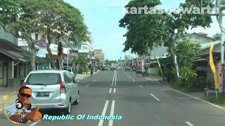 preview picture of video 'Manggar Town Highway - Biosafe Belitung Tour 2014 (Oplosan Dangdut)'