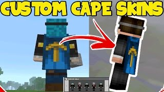 How To Get Capes In Mcpe And PATCHED FOR - Gomme skin fur minecraft pe