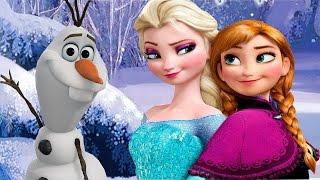 Холодное Сердце/Frozen.Интерактивный Мультик Сказка для Детей.История Анны и Эльзы в Сказке Диснея