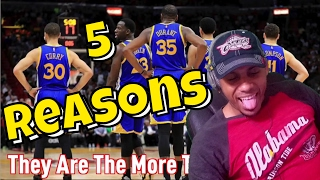 5 Reasons Why The GOLDEN STATE WARRIORS WILL WIN the NBA FINALS REACTION