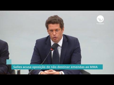 Salles acusa oposição de não destinar emendas ao MMA - 03/05/21