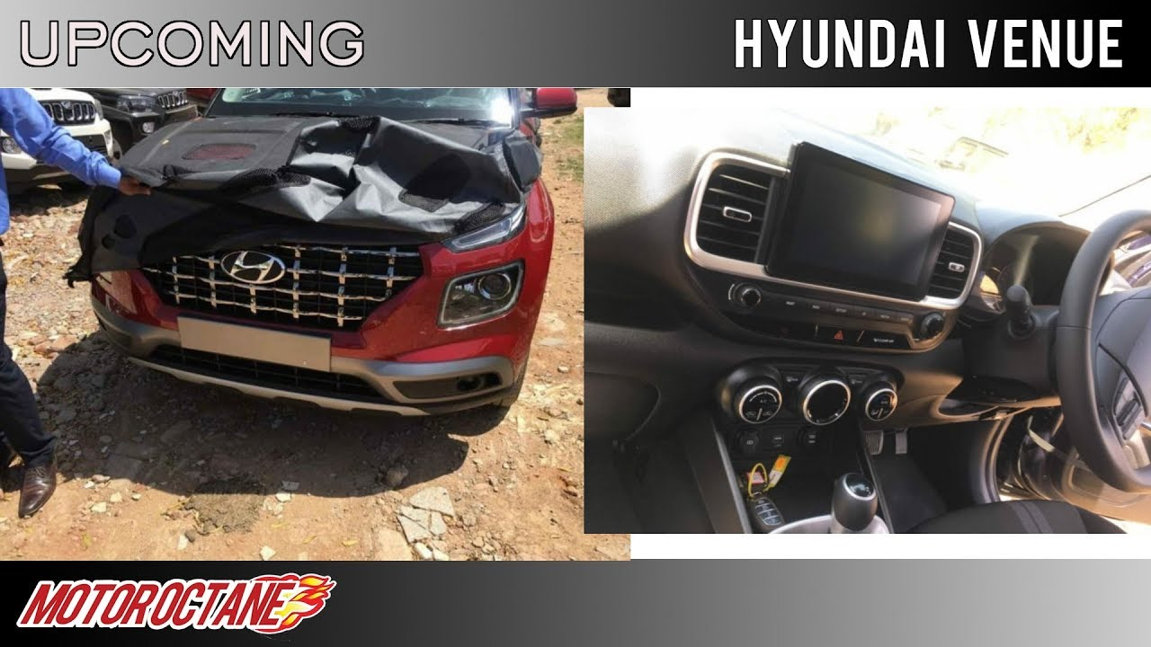 Motoroctane Youtube Video - Hyundai Venue Images LEAKED | Hindi | MotorOctane