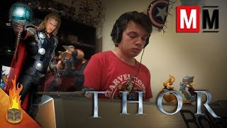"""Thor """"A New King/Sons of Odin"""" Cover"""
