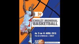 preview picture of video 'Finale du concours de Dunks du Cholet Mondial Bodet Basketball 2015'