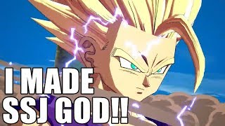 So THIS is what Super Saiyan God Rank is like....