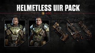 Gears of War 4 : Helmetless UIR Packs