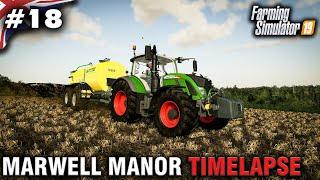 FS19 Marwell Manor Timelapse #17 Digestate Spreading - Самые лучшие