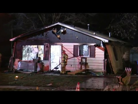 First responders investigate home explosion in Warren