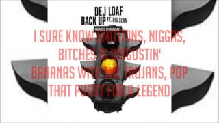 DeJ Loaf   Back Up  Lyrics  ft  Big Sean