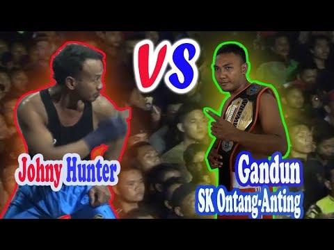 Pencak Dor  || Mas Gandun SK Ontang-Anting Persahabatan Dengan Johny Hunter