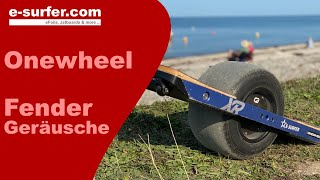 Onewheel Fender Kit Noise reduction