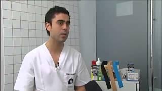 Vendaje neuromuscular de Bale Premium Madrid Real Madrid CF - Centro Rehabilitación Centro Deportivo Piscinas M86