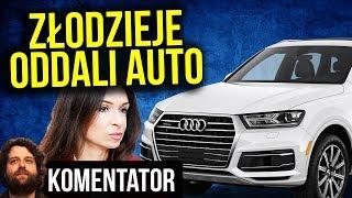 Złodziej Oddał Samochód Audi Q7 Marcie Kaczyńskiej Bał się PIS - Komentator