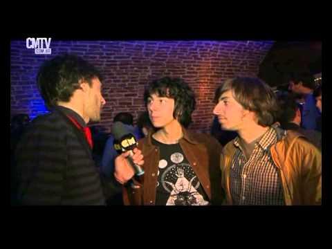 Banda de Turistas video Entrevista Entrega de nominaciones - Carlos Gardel 2015