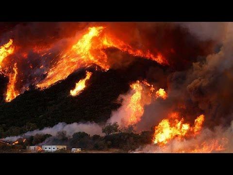 ΗΠΑ: Ορατή από το διάστημα η πυρκαγιά στην Καλιφόρνια